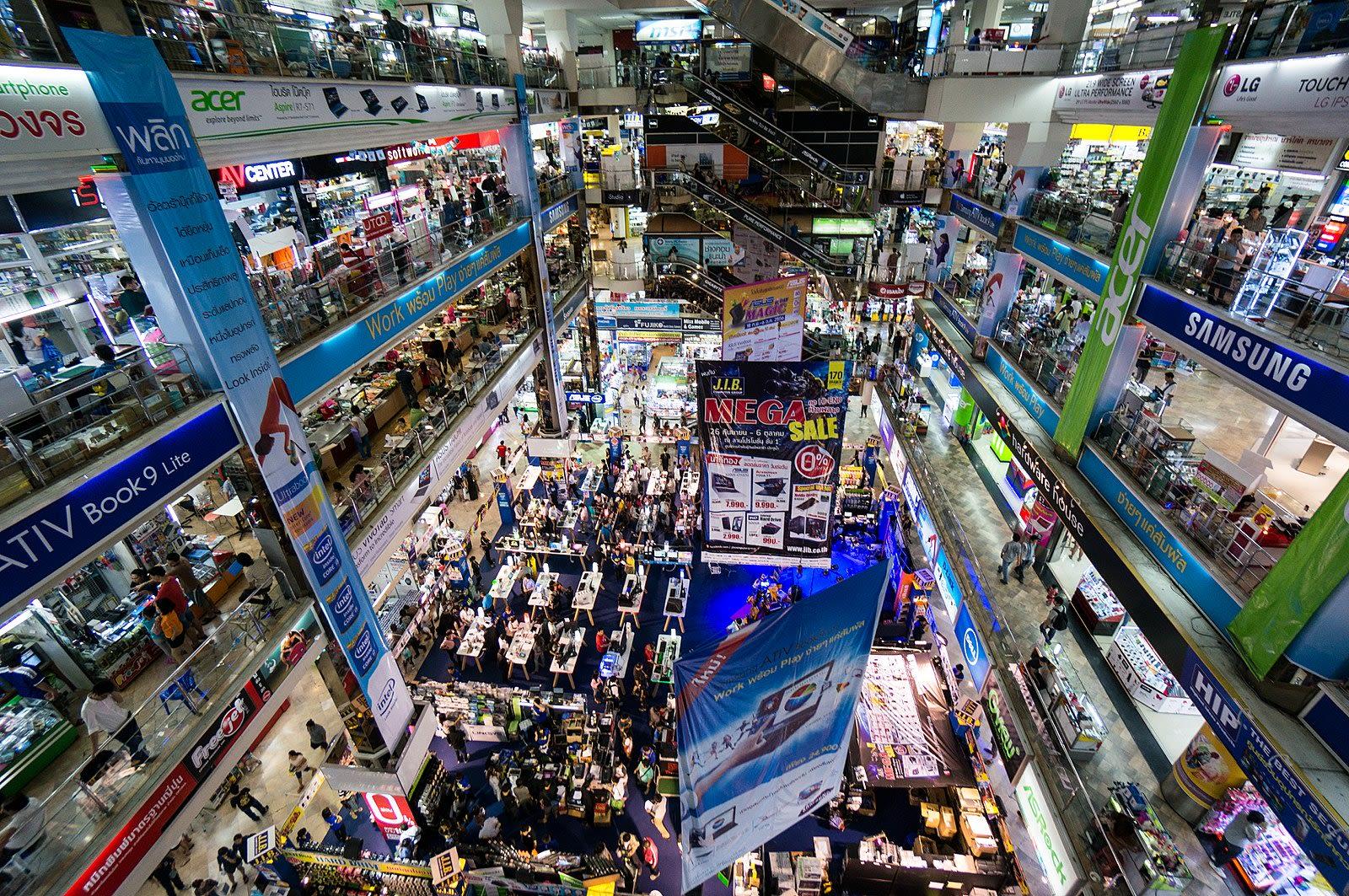 mua sắm tại thái lan: pantip plaza