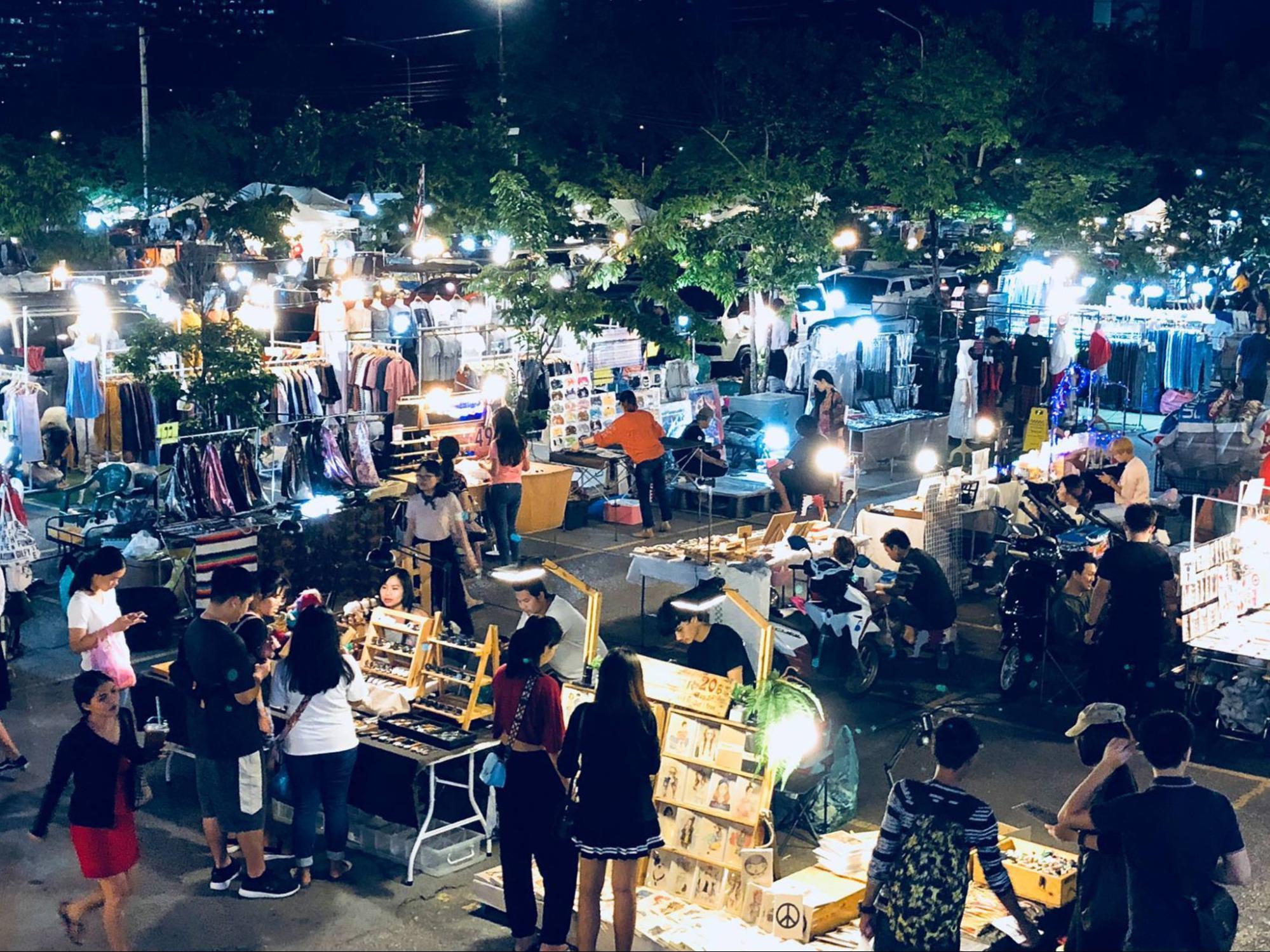 mua sắm tại thái lan: jj green market