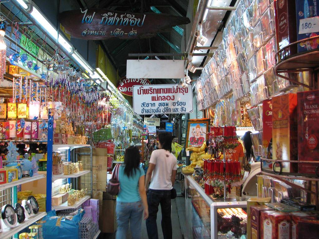 mua sắm tại thái lan: chatuchak weekend market