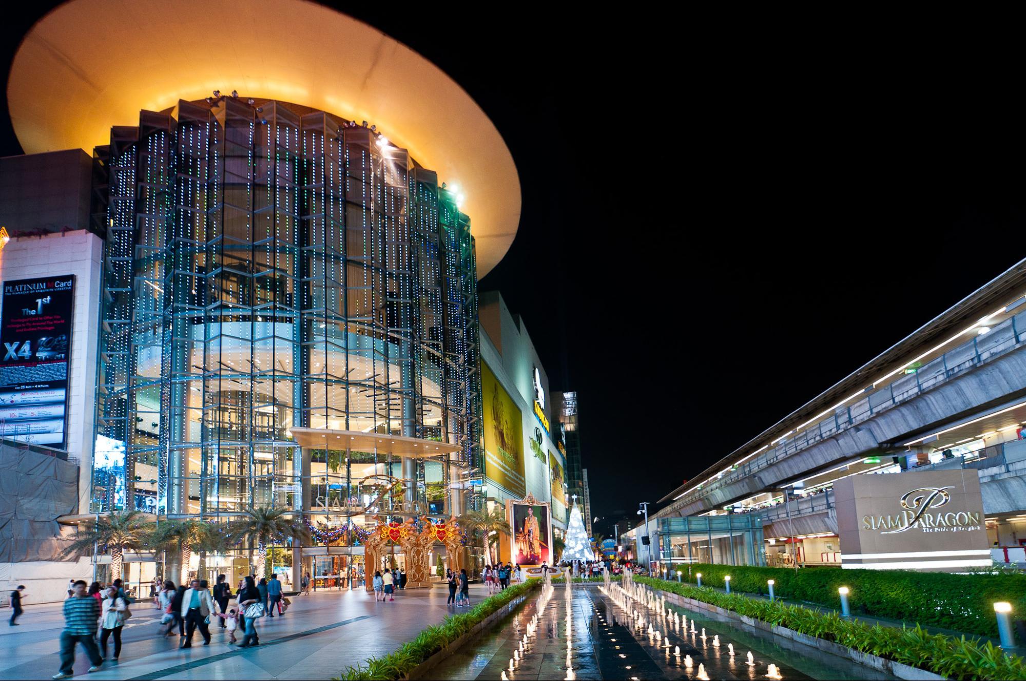 mua sắm tại thái lan: siam paragon
