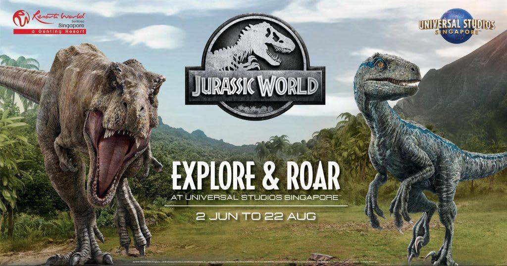 Jurassic World đã đổ bộ vào Universal Studios Singapore