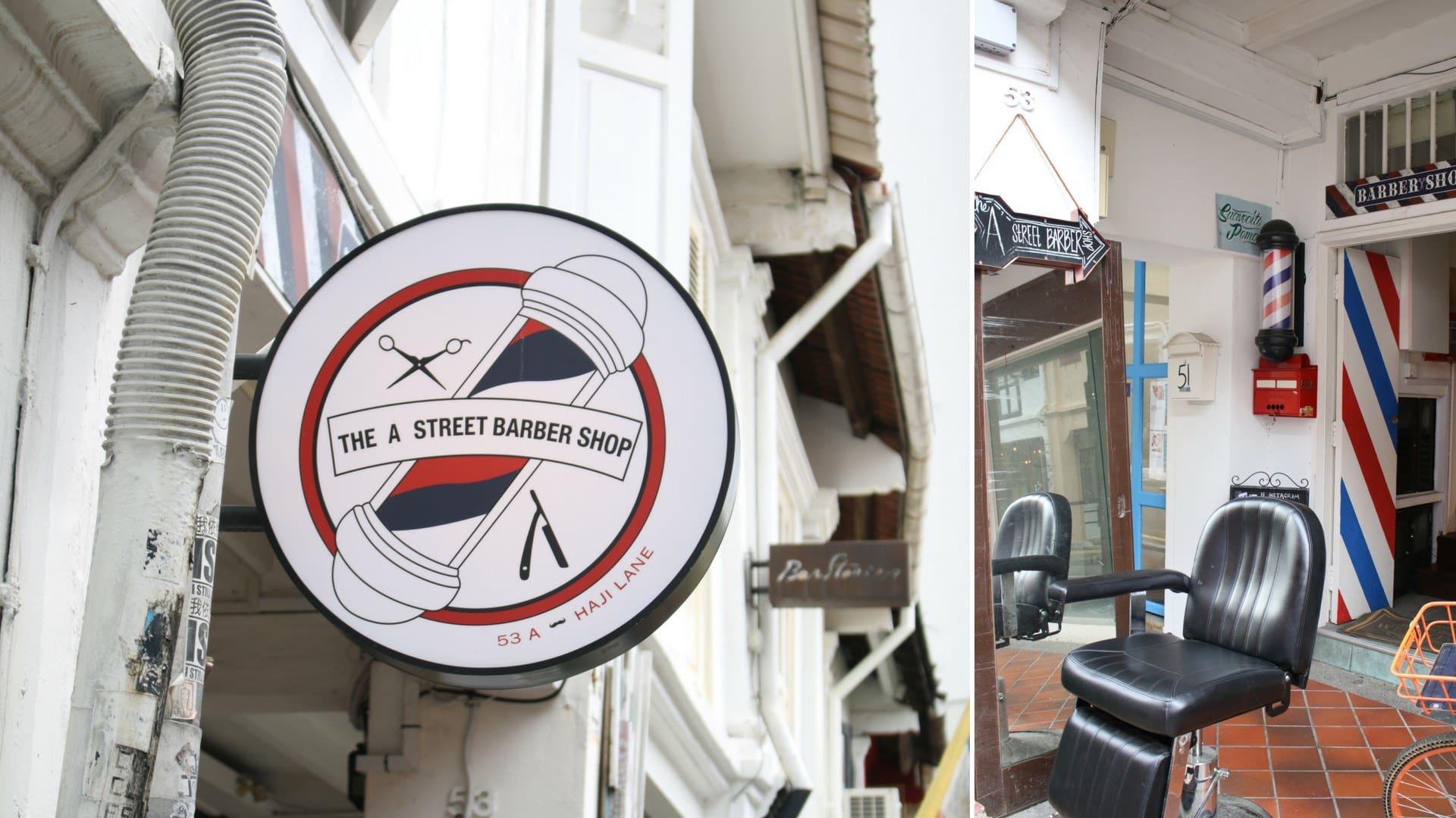 Khám phá Haji Lane: a street barber shop