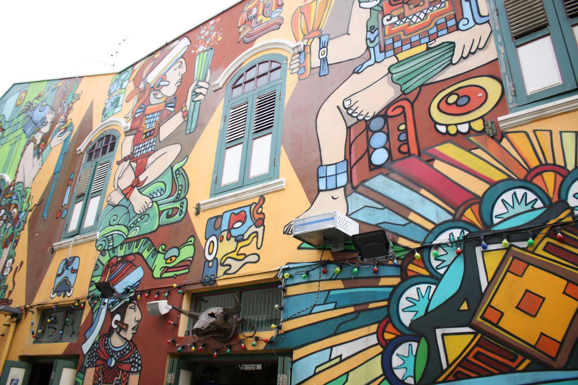 Khám phá Haji Lane: graffiti art