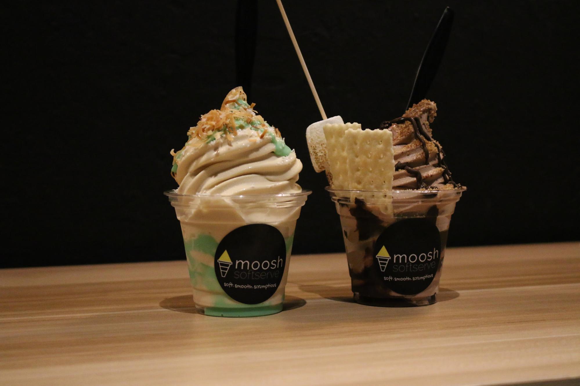 Khám phá Haji Lane: kem tại moosh softserve
