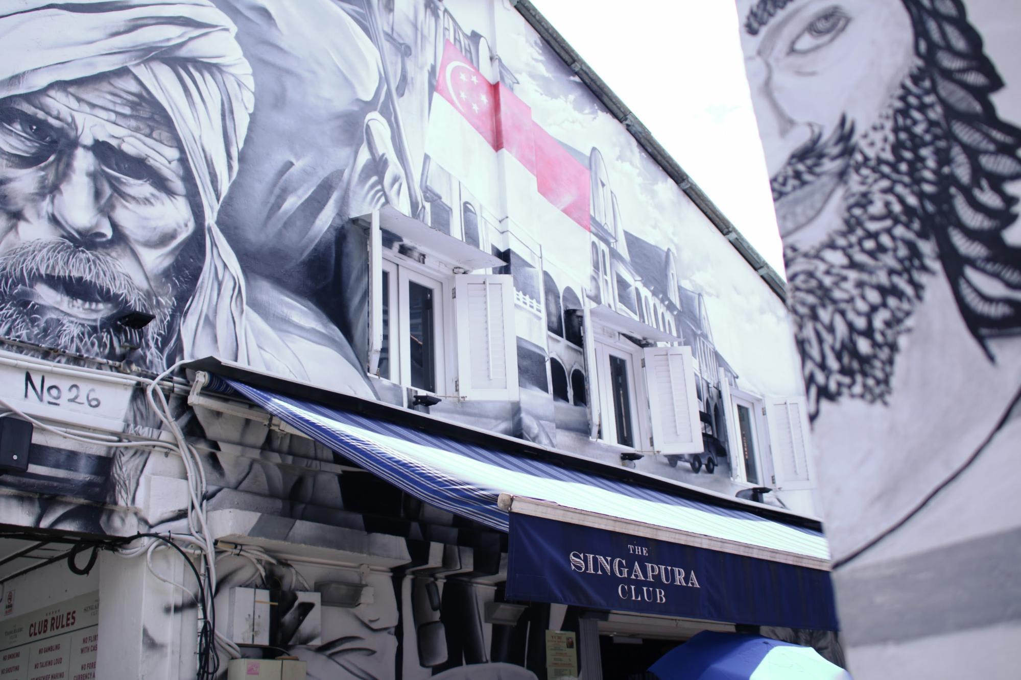 Khám phá Haji Lane: singapura club