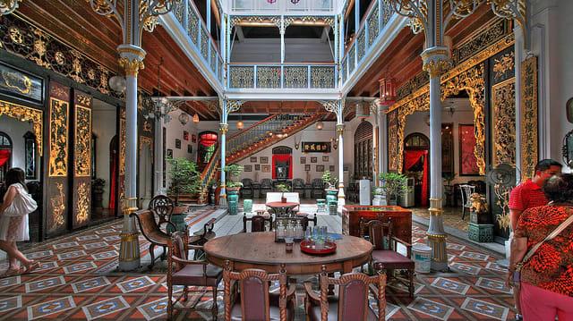 kinh nghiệm du lịch penang: ghé biệt thự pinang peranakan