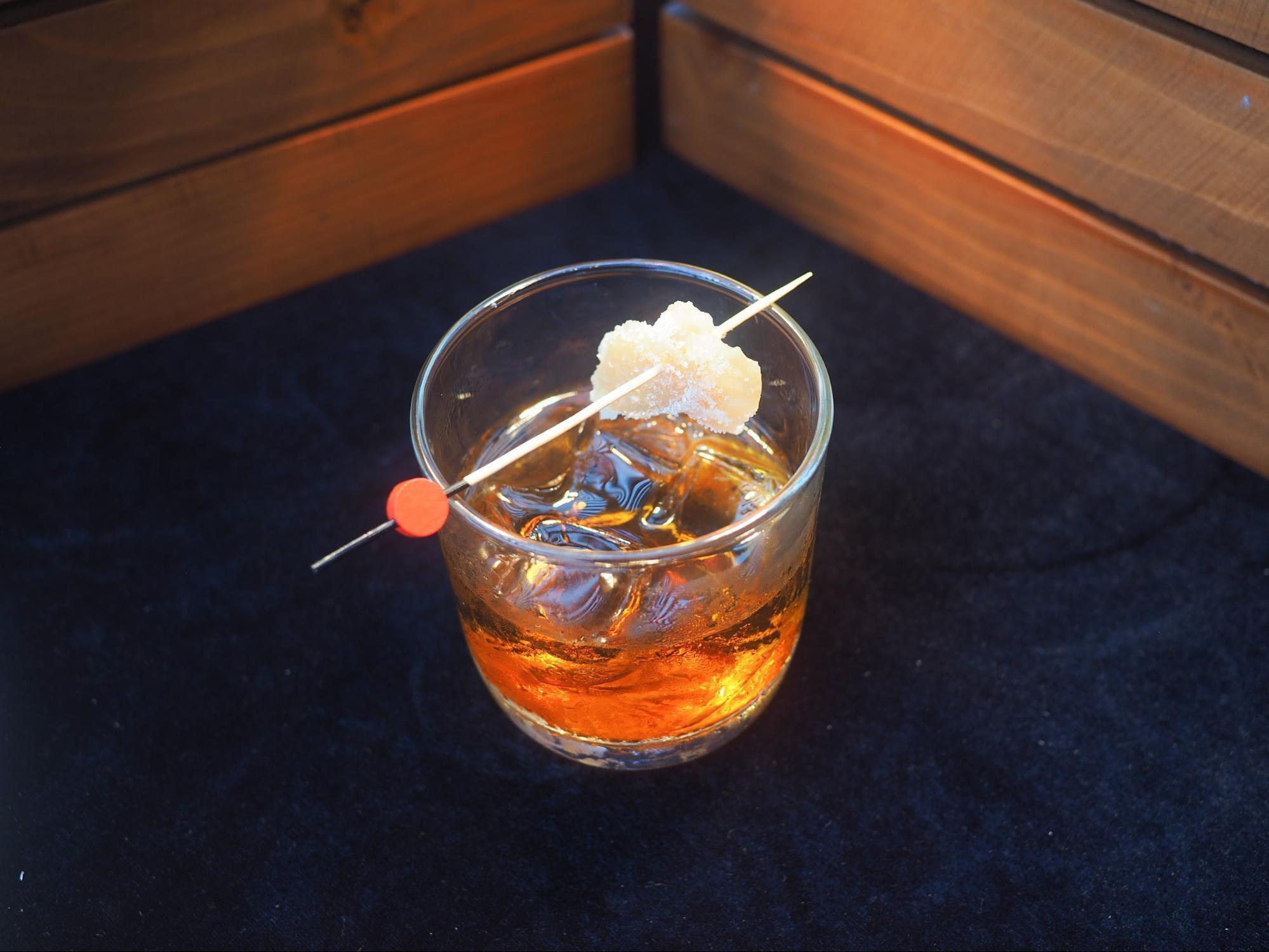 cocktail tại propeller bar: ah gong's temper