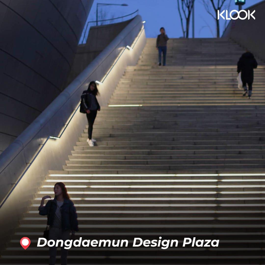 dongdaemun design plaza về đêm