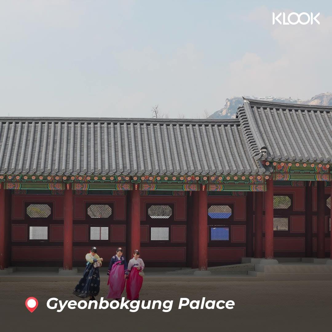 cung điện gyeonbokgung hàn quốc