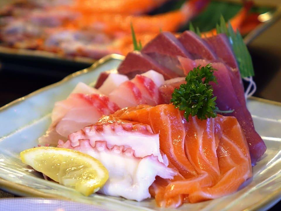 sashimi ở jeju