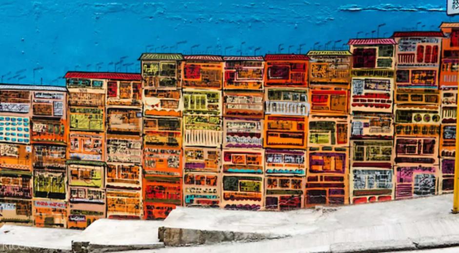 tranh tường nghệ thuật tại street art tour