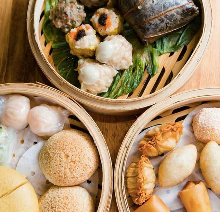 ăn dimsum tại nhà hàng yung kee