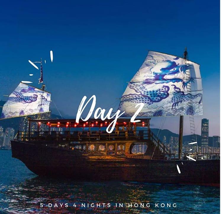 du thuyền aqualuna hong kong