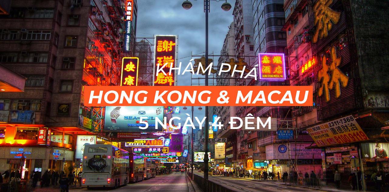 Tất tần tật bí kíp du lịch Hong Kong & Macau trong 5 ngày 4 đêm 1