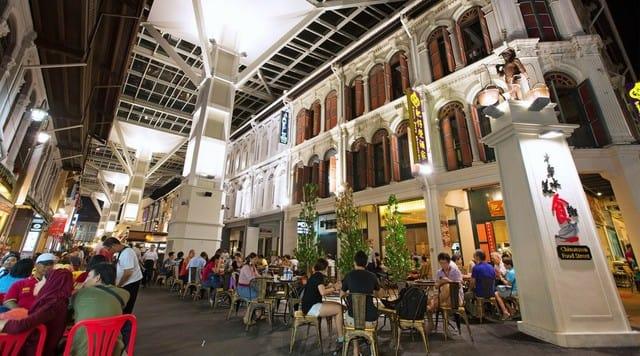 một góc chinatown food street