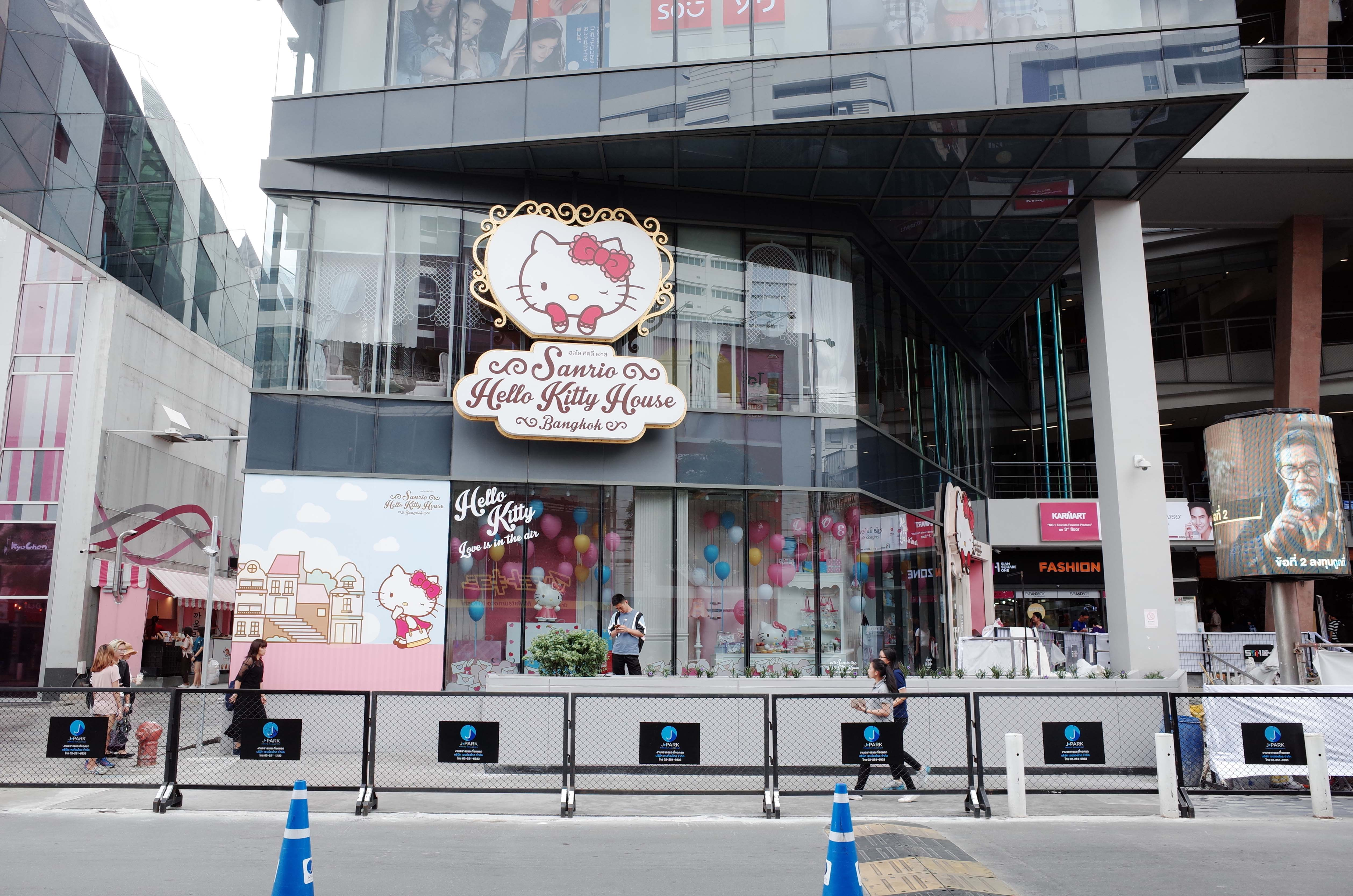 Toàn cảnh Sanrio Hello Kitty House tại Siam Square One