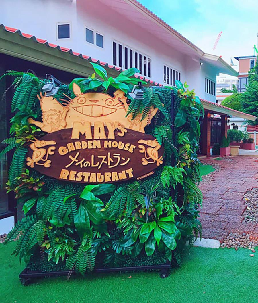 nhà hàng may's garden house tại bangkok