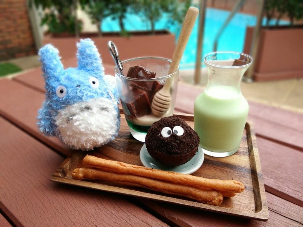 thức uống và bánh ngọt của may's garden house