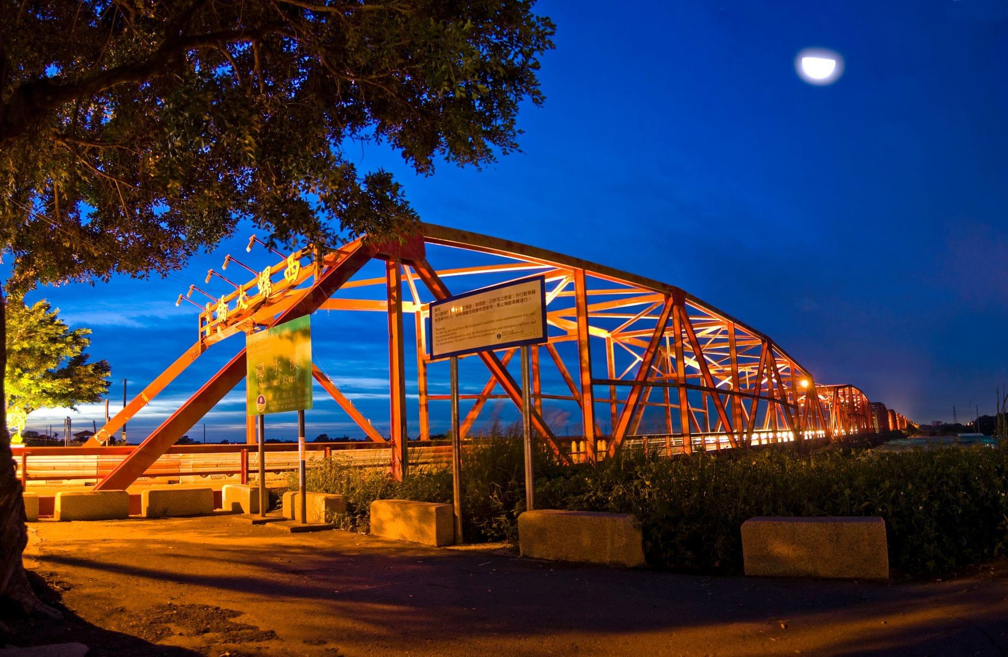 cầu xilou về đêm