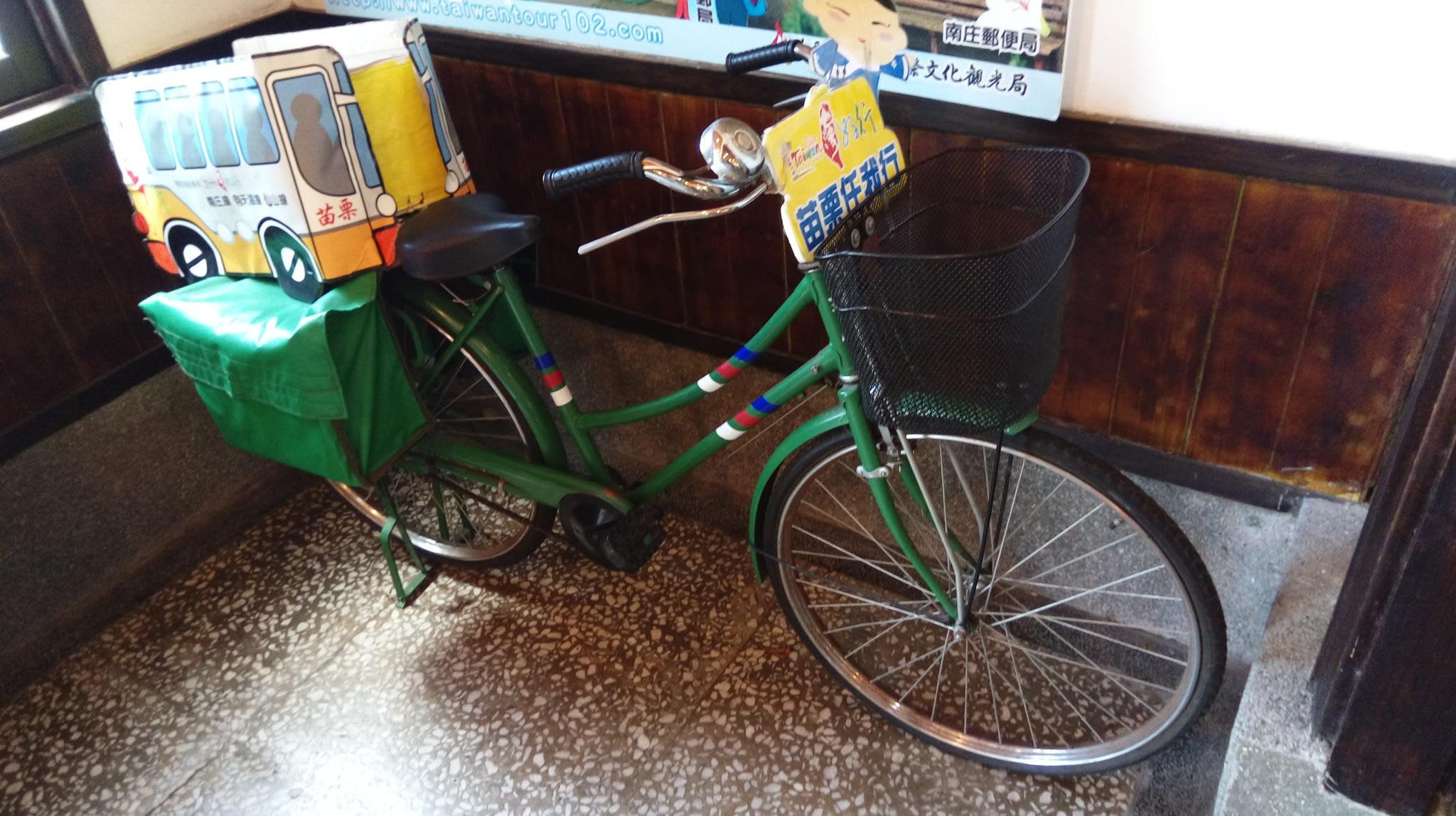 xe đạp cổ tại bưu điện cổ nanzchuang
