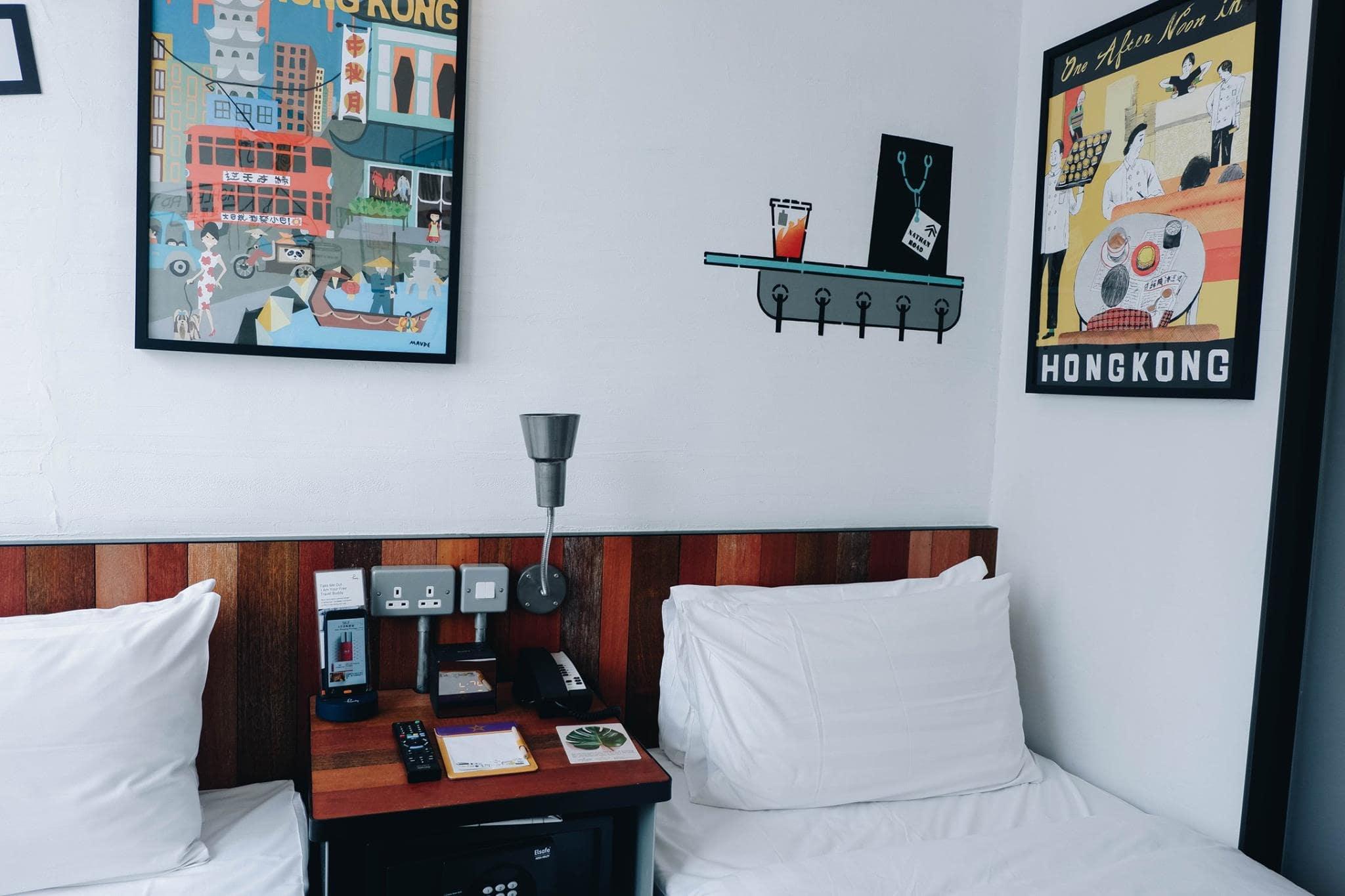 phòng khách sạn tại hong kong