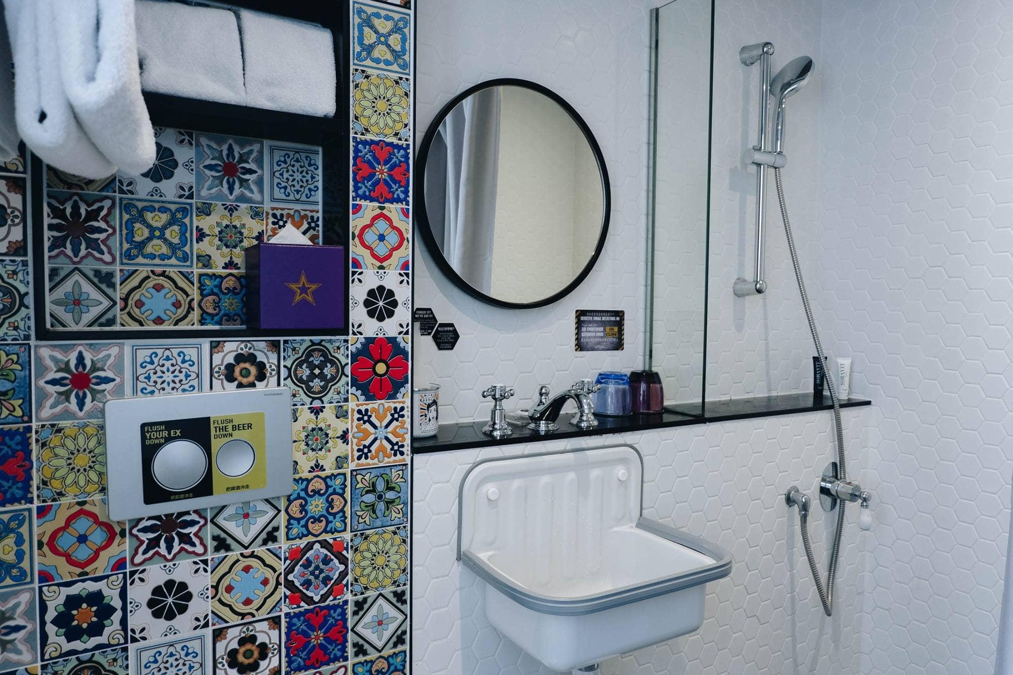 toilet khách sạn tại hong kong