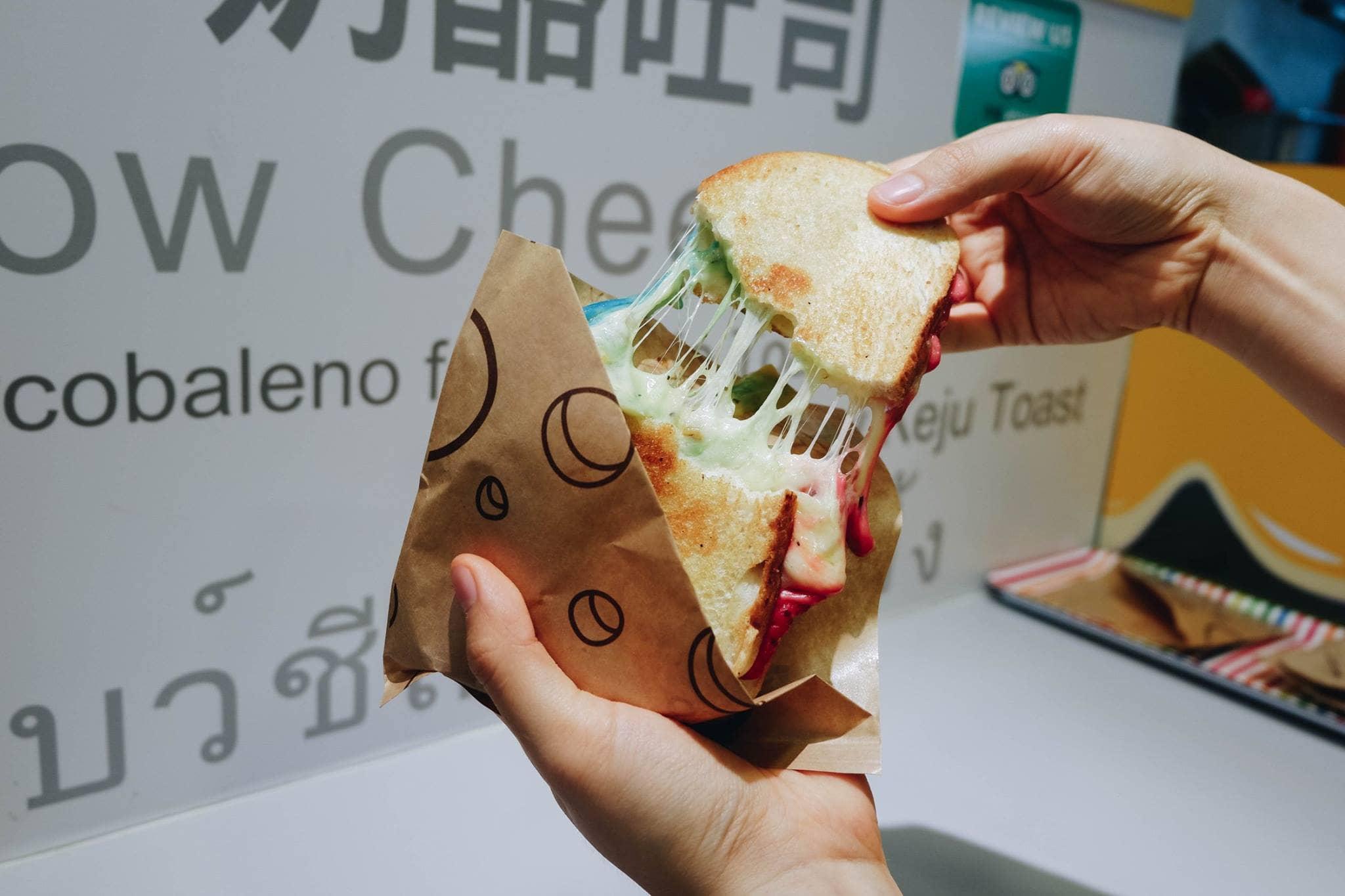 mì sandwich tại kala toast