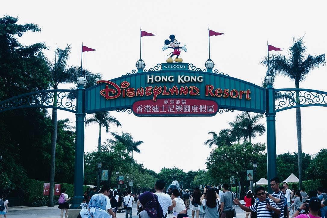 cổng vào hong kong disneyland