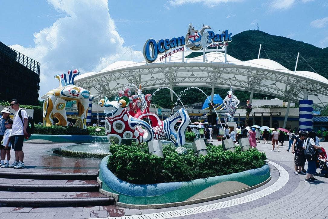 cổng vào ocean park hong kong