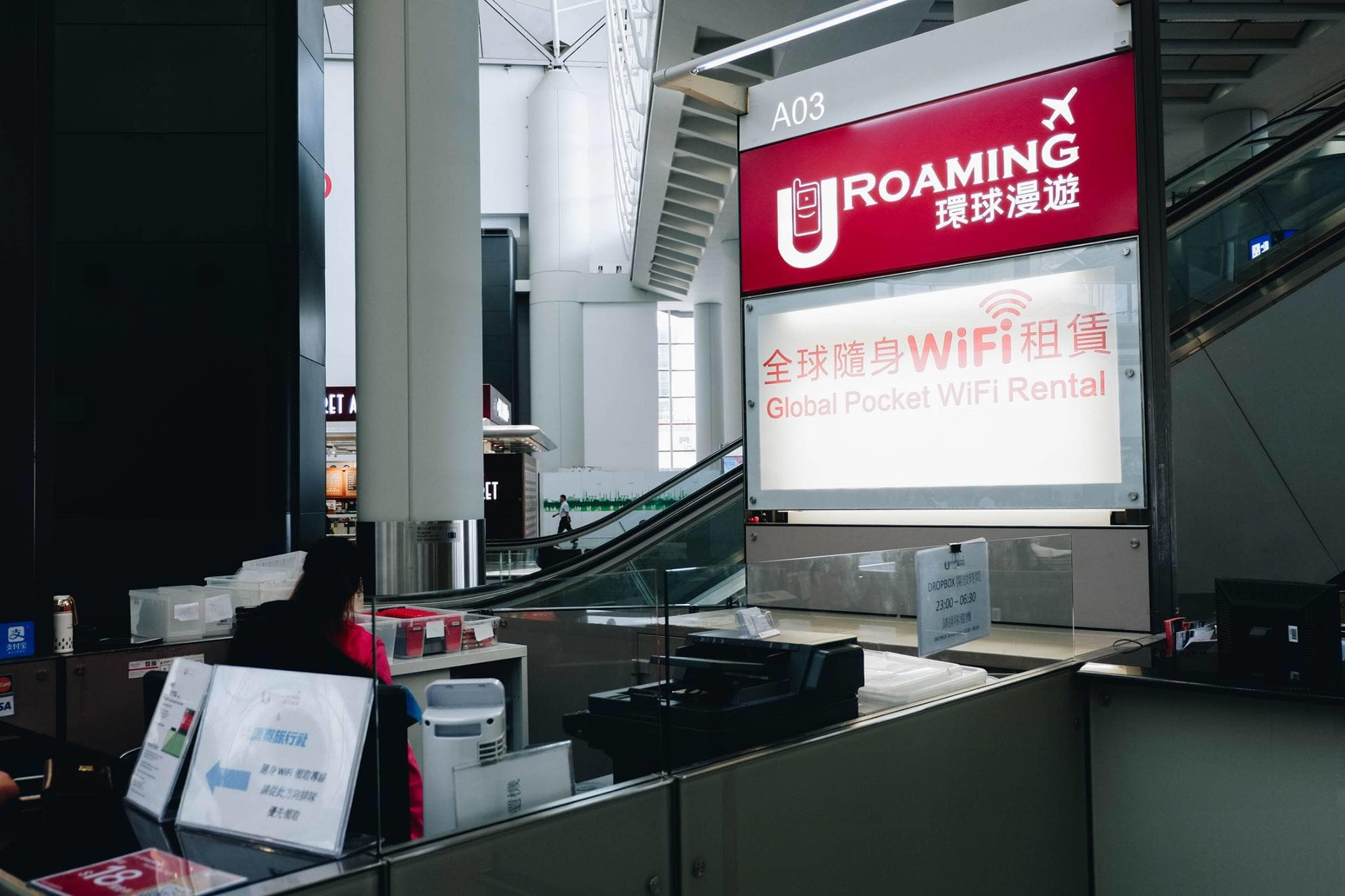 nơi nhận thiết bị wifi 4G tại hong kong
