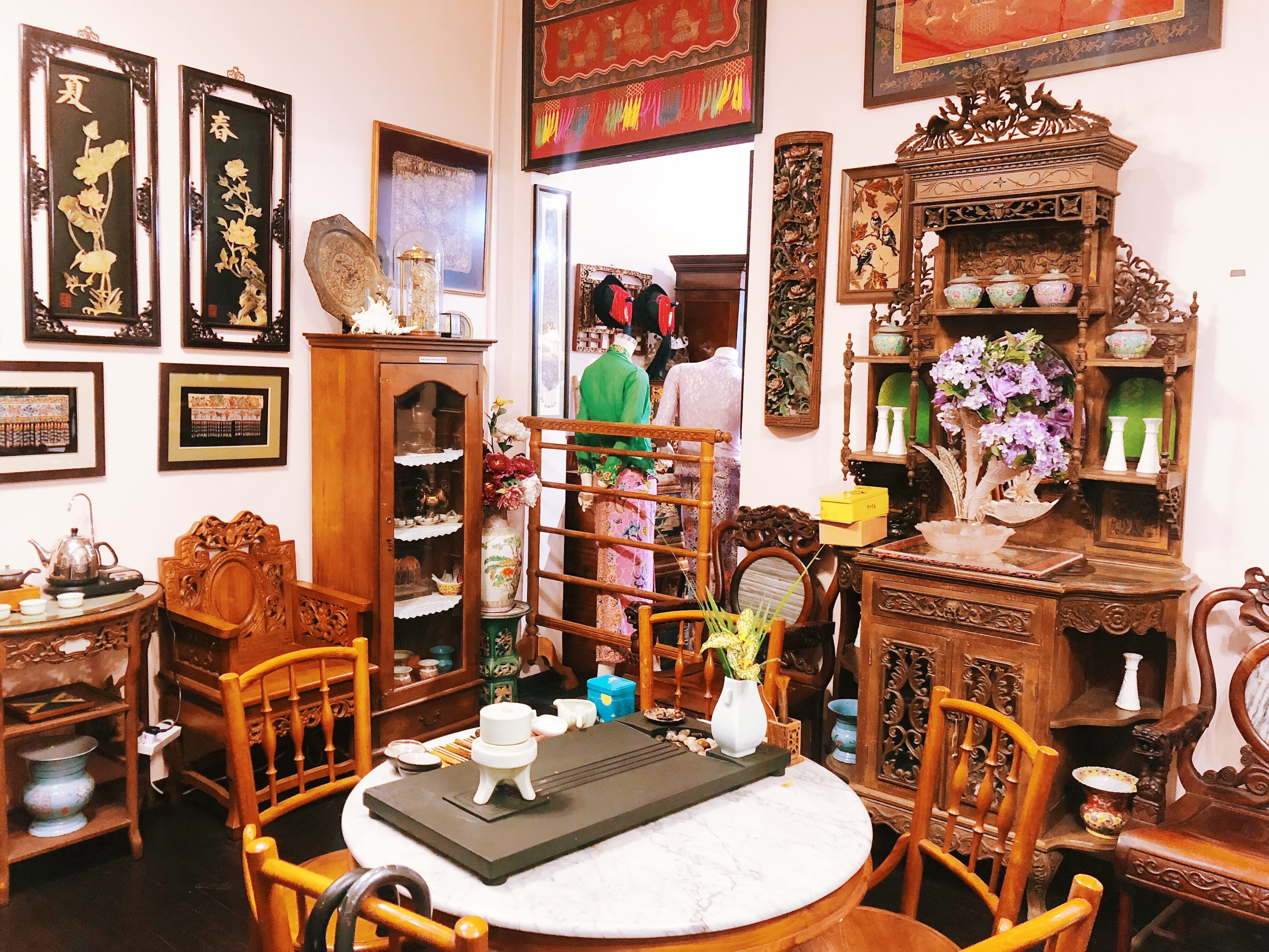 nội thất của rumah kim choo
