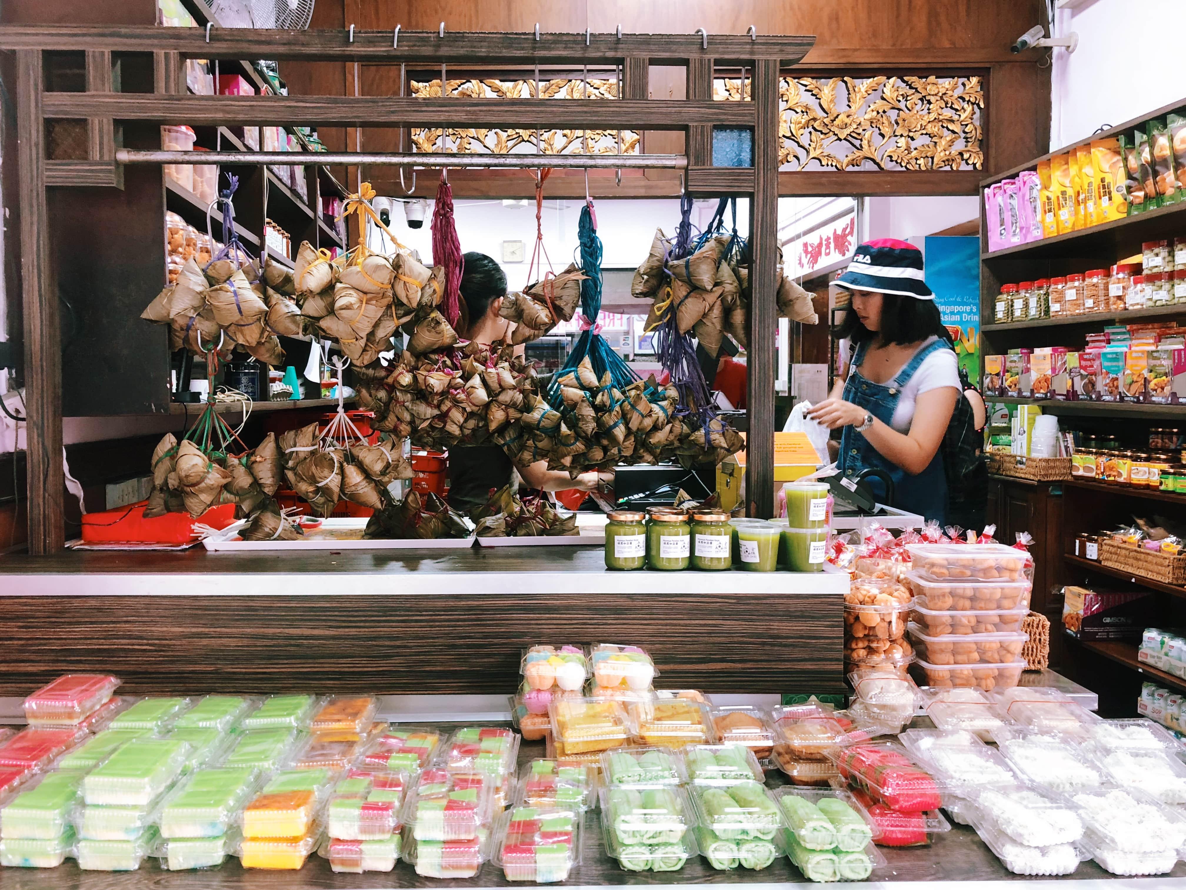 các món ăn peranakan tại quán kim choo kueh chang