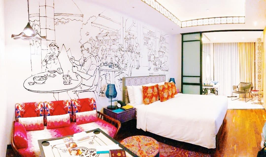 phòng ngủ hotel indigo