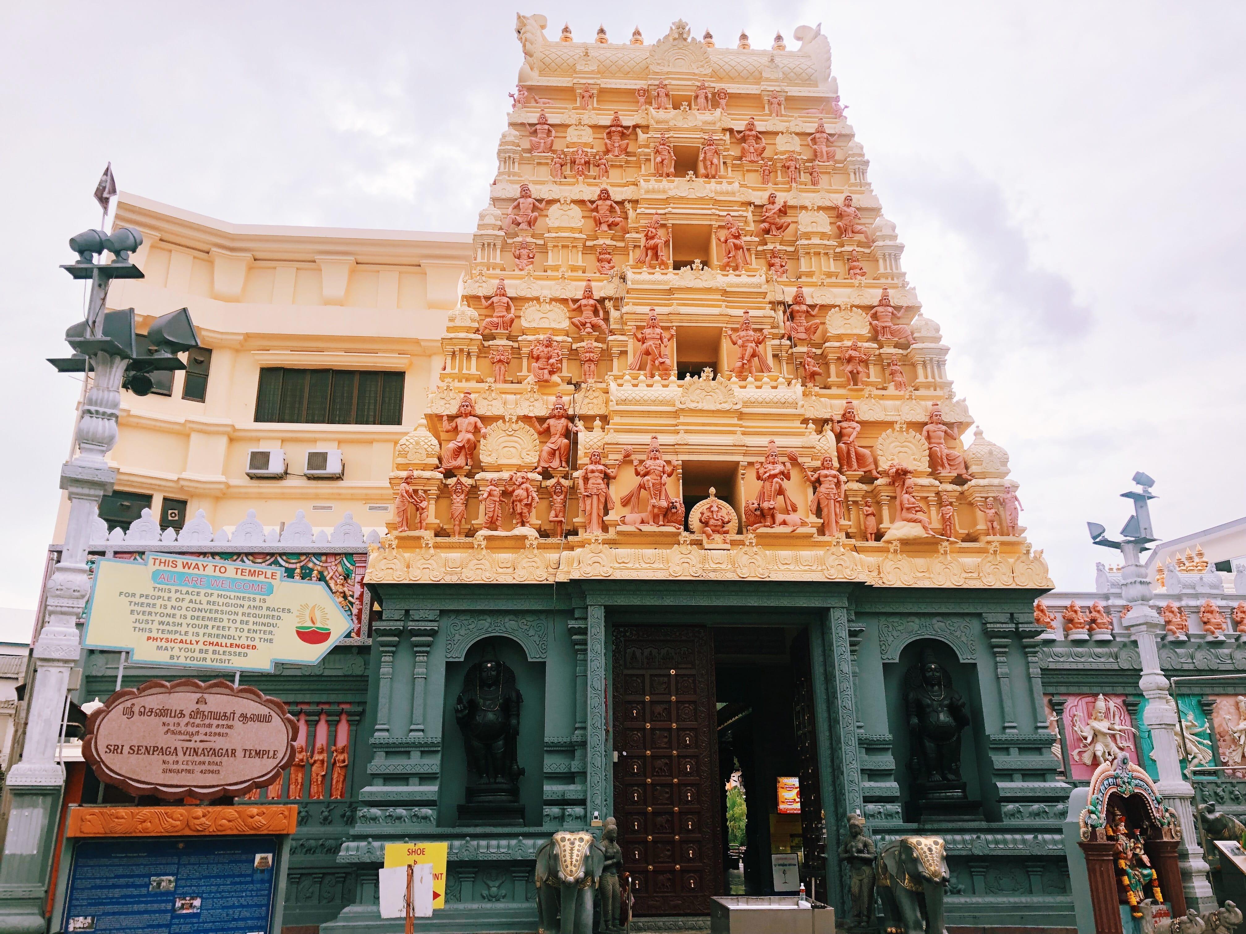 đền thờ sri senpaga vinayagar