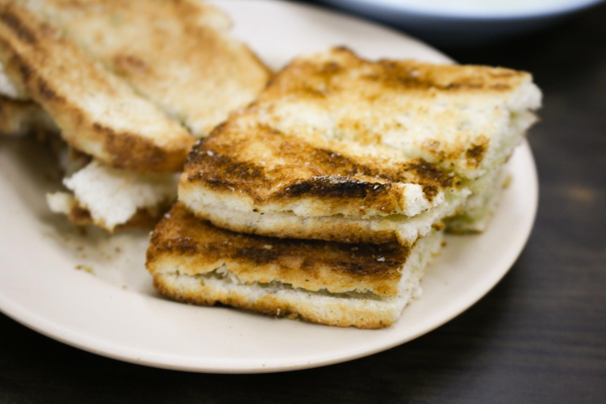 bánh mì nướng kaya