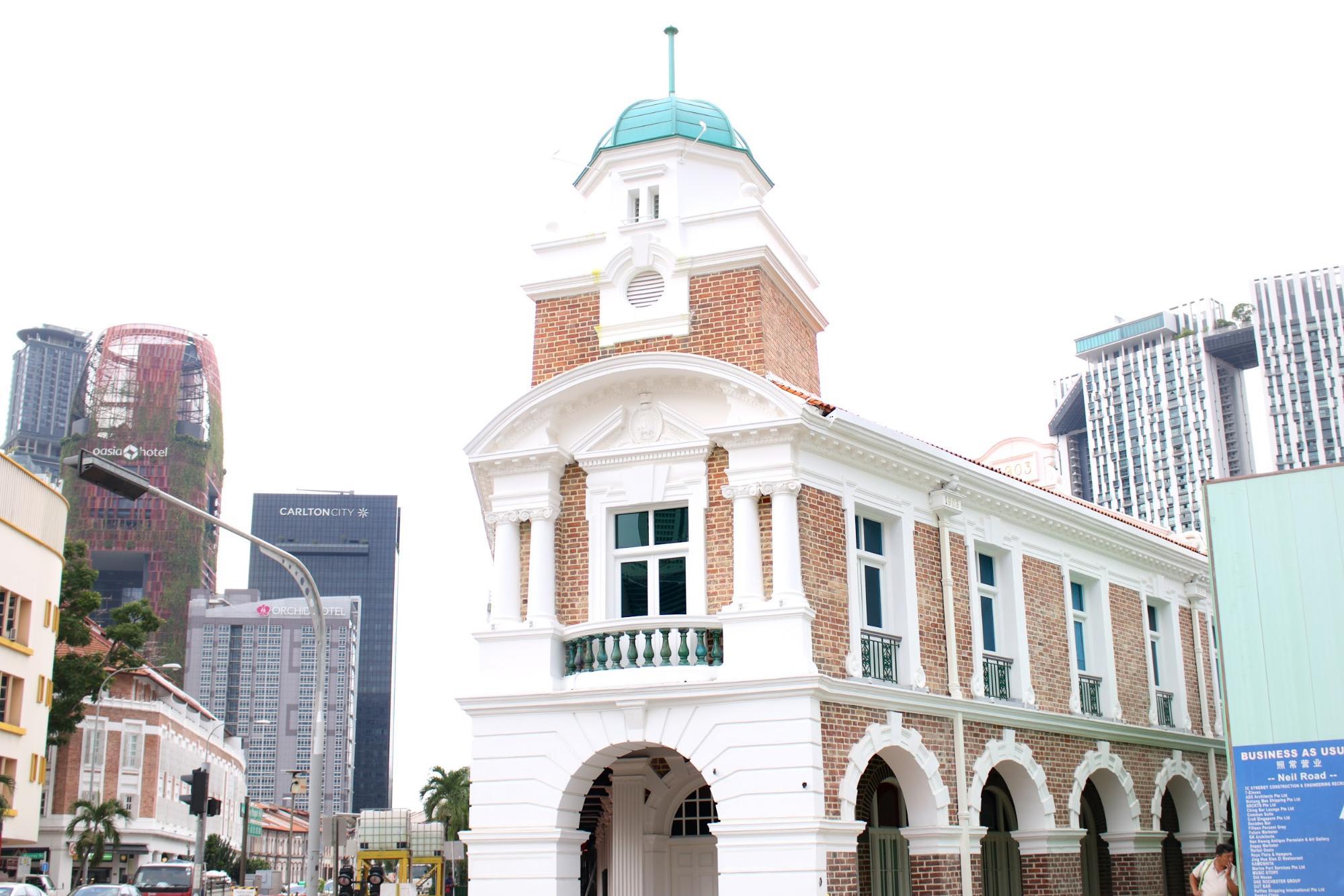 tòa nhà jinrikisha