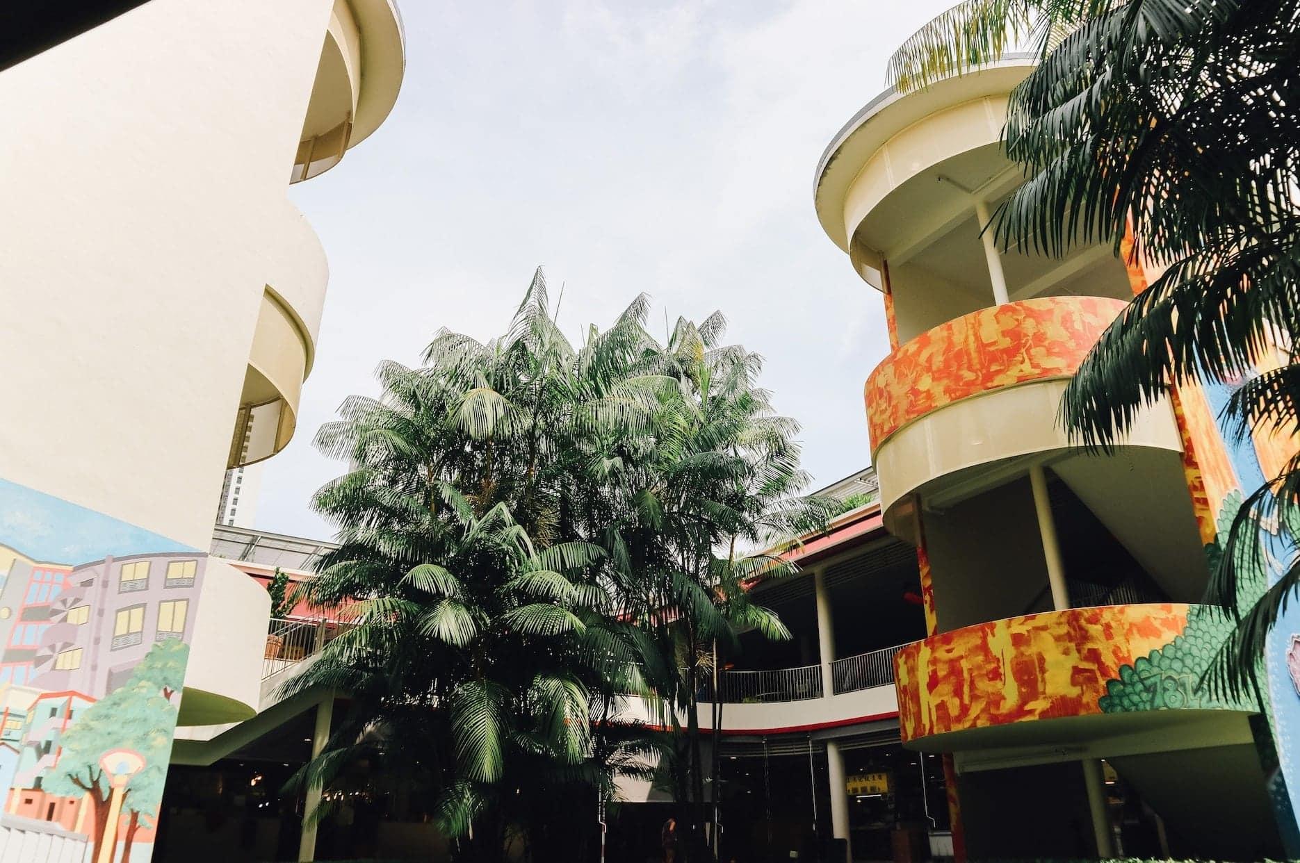 các căn hộ trước chiến tranh tại khu tiong bahru