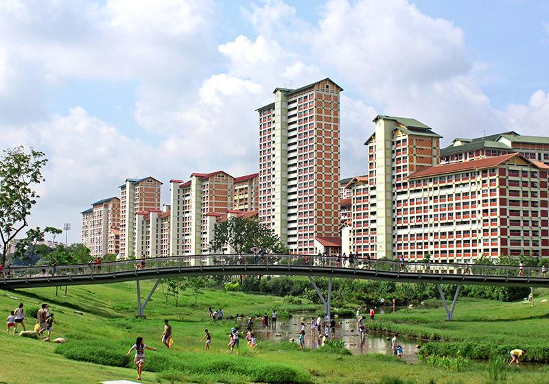 toàn cảnh công viên Bishan-Ang Mo Kio