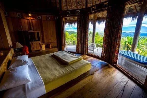 phòng nghỉ sang trọng tại baliem valley resort
