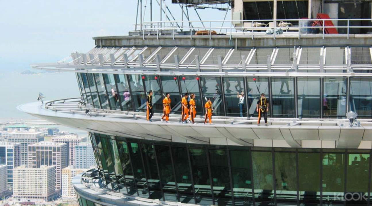 skywalk ở tháp macau