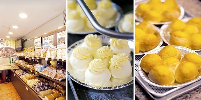 tiệm bánh hyoja với các món bánh truyền thống