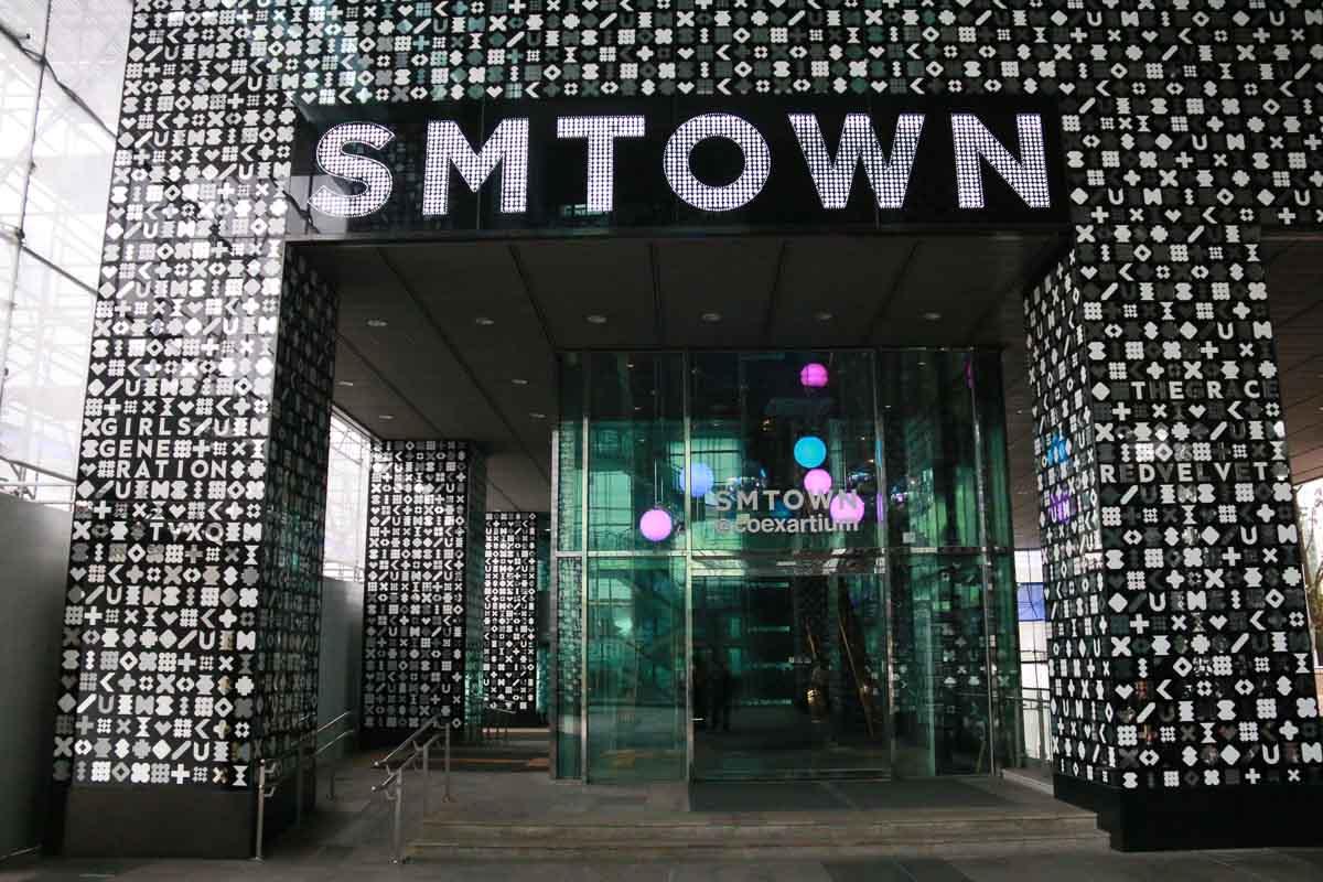 trung tâm thương mại SM town coex