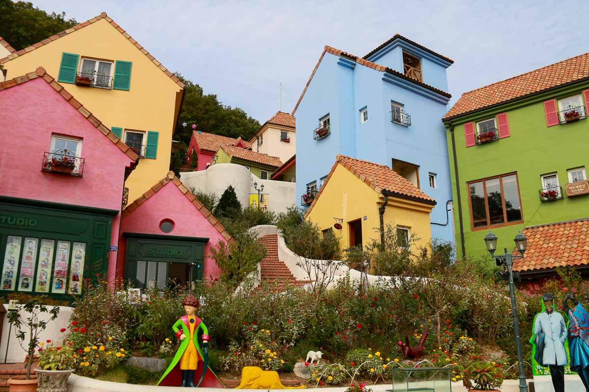 làng pháp petite france