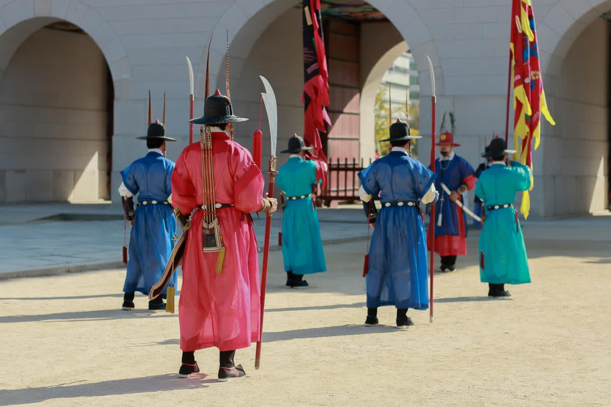thị vệ tại Gyeongbokgung