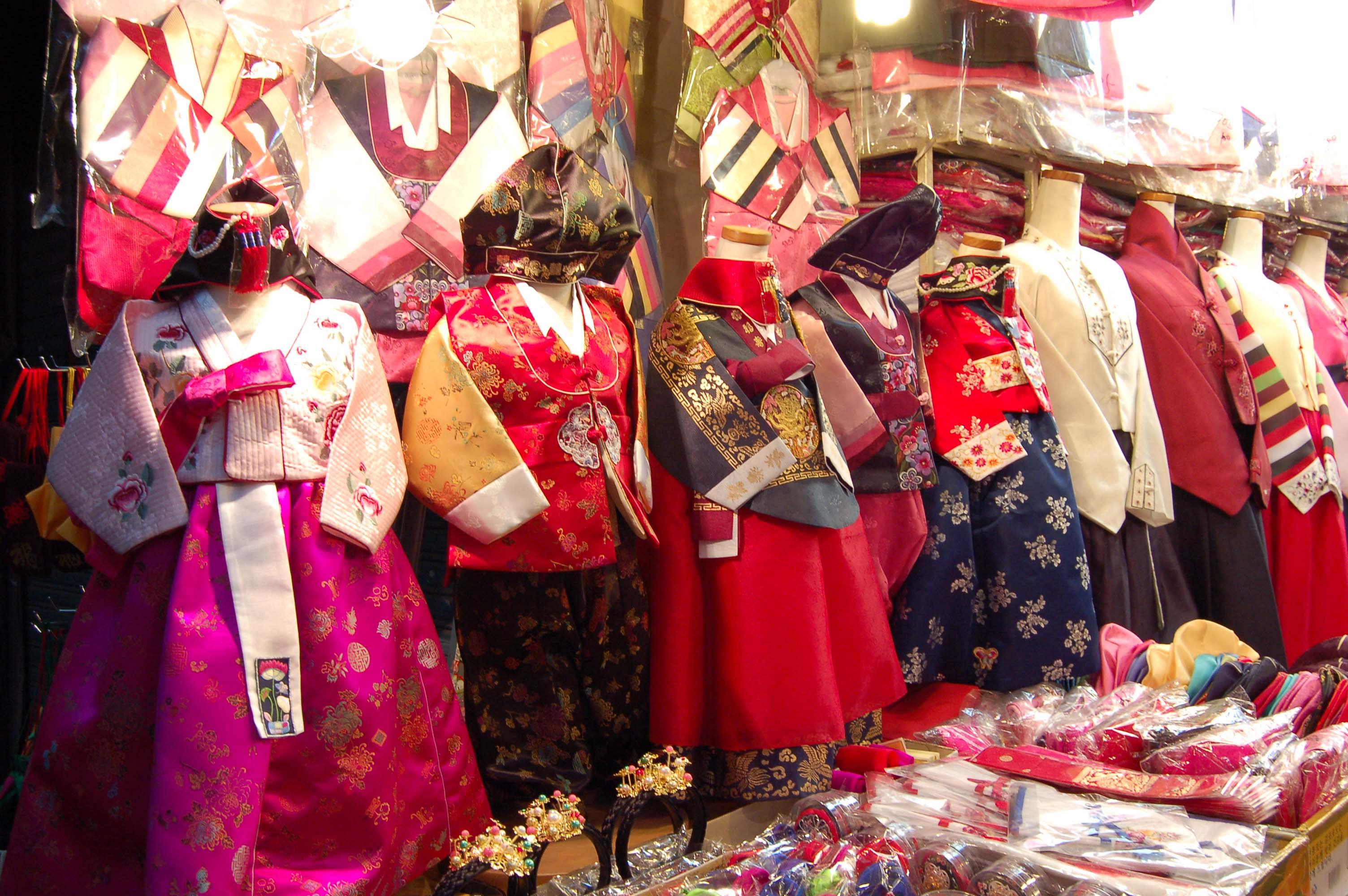 quần áo ở chợ dongdaemun
