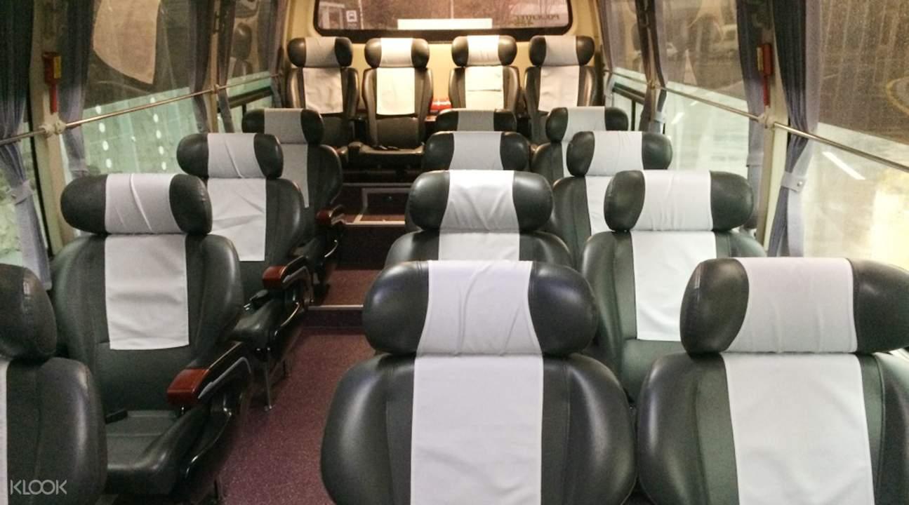 xe buýt từ sân bay incheon
