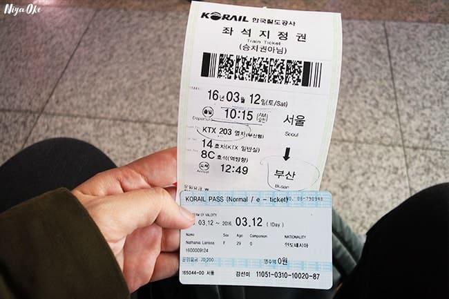 thẻ korail pass