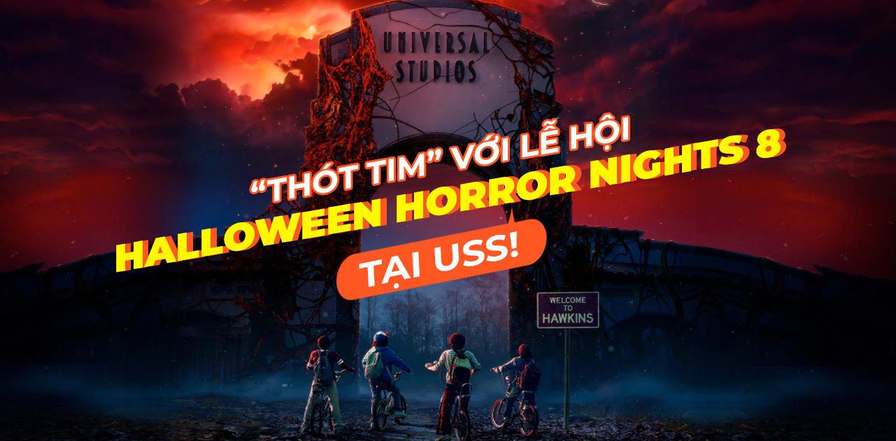 "TIN HOT: ""Thót tim"" Halloween Horror Nights 8 tại Universal Studios Singapore 1"