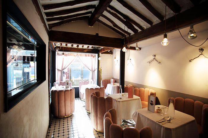 bên trong nhà hàng gyeongyangsik 1920