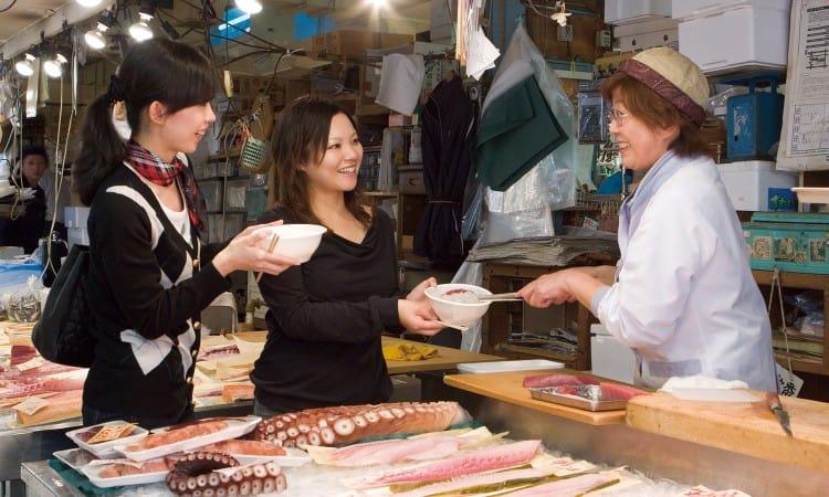 chợ cá furukawa
